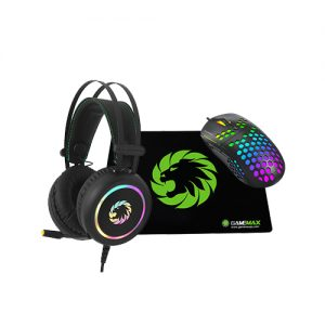 GAMEMAX MG8 + GAMEMAX G3500 RGB USB 7.1 + GAMEMAX GMP-001