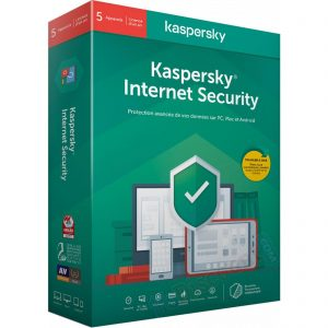Kaspersky Internet Security 2020 – Licence 5 postes 1 an