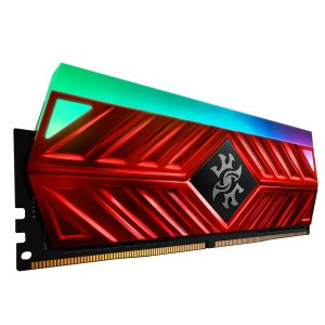 ADATA SPECTRIX D41 DDR4 8GB 3200MHZ RGB RED