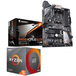 Kit Upgrade PC AMD Ryzen 5 3600X Gigabyte B450 AORUS ELITE